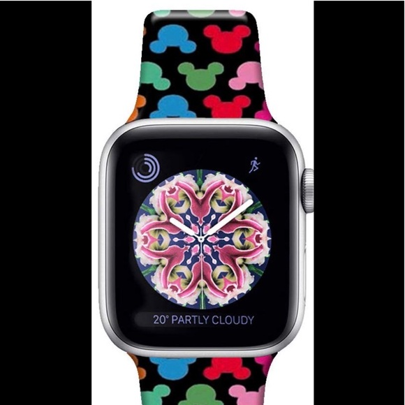 Disney Accessories - Mickey Mouse silicone Apple Watch band 🆕